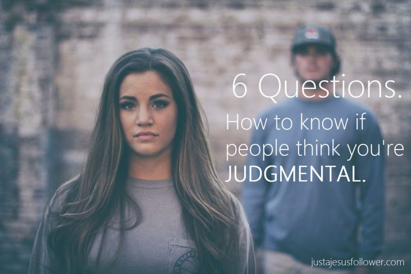 6 Questions. How to know if people think you're judgmental - Money Solutions Online