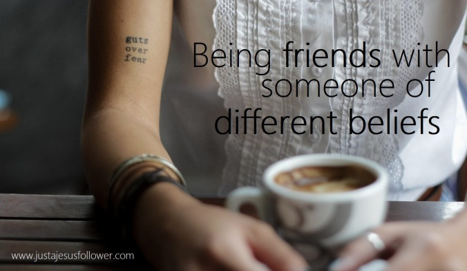 friends with different beliefs