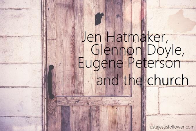 jen hatmaker and church